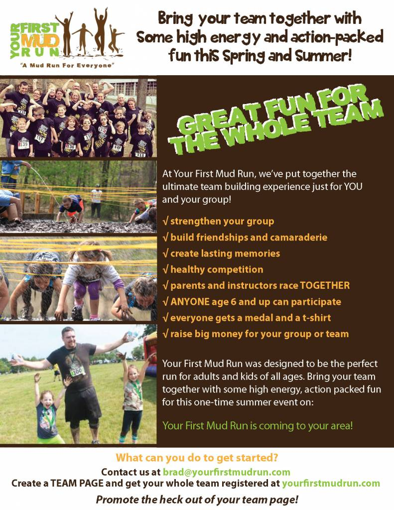 mud run teambuilding event