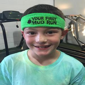 mud run headband